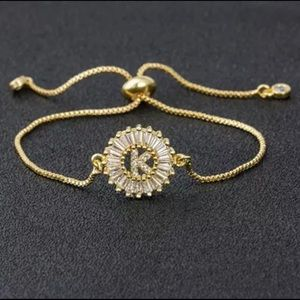 Jewelry - New Gold K Pave CZ Diamond Bracelet